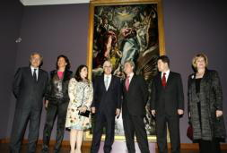 El Greco «vuelve a casa» y se instala en el soberbio edificio de Santa Fe