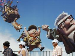 Cartel de la película de animación 'Up' que ha abierto la 62 edición del festival de Cannes. / Reuters