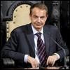El presidente del Gobierno español José Luis Rodríguez Zapatero durante su visita a la localidad leonesa de Astorga./ Efe