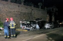 Tres jóvenes muertos y tres heridos graves en un accidente en Cantabria
