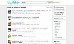 #etaNO: Rechazo a ETA en Twitter