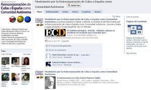 Cubanos exiliados piden en Facebook que la isla se reincorpore a España como una comunidad autónoma