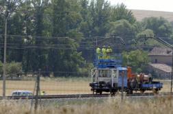 Una tormenta obliga a suspender cinco horas el tren entre Burgos y Briviesca