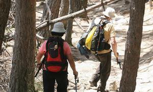 La Comunidad estudia sancionar a los montañeros imprudentes