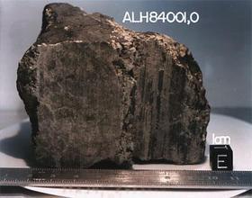 ¿Nuevas evidencias de vida en un meteorito marciano?