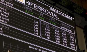 El Ibex modera sus pérdidas y logra mantener los 12.000