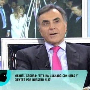 Manuel Segura, padre de Borja Thyssen, entra en escena