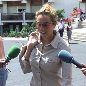 Rocío Carrasco y Antonio David, cara a cara en los Juzgados