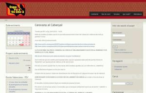 Entidades catalanas subvencionadas por el tripartito se manifestarán en El Cabanyal