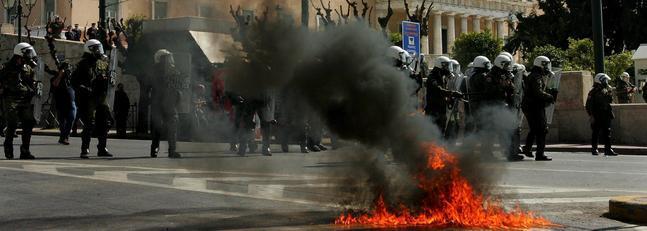 Grecia se paraliza con la segunda huelga general en una semana