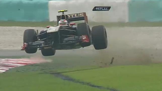 Petrov «voló» sobre el asfalto de Sepang