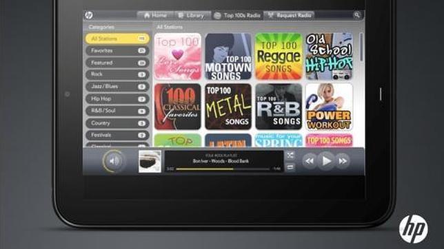 HP planea su propio servicio de música en streaming