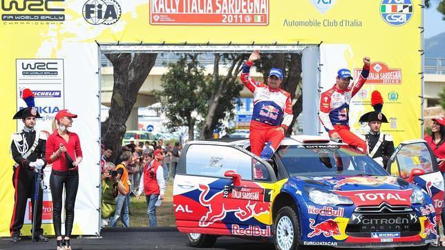 Loeb consigue la victoria