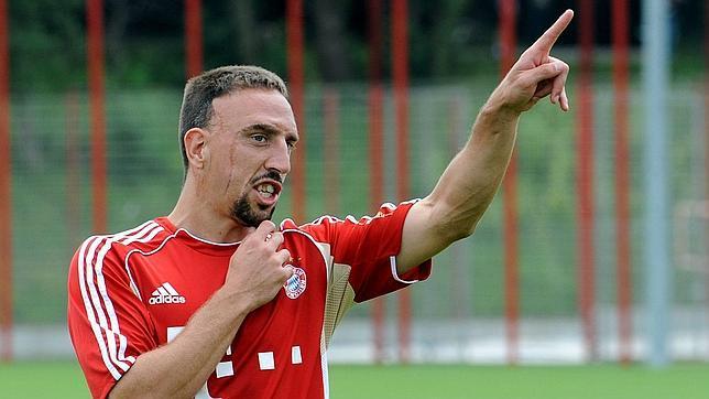 Ribéry: «Puedo llegar al nivel de Messi»