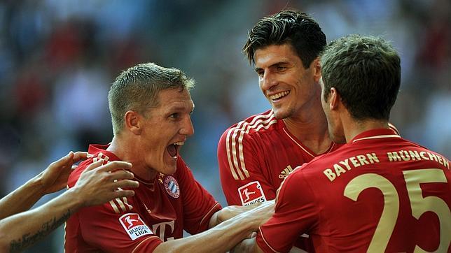 El Bayern de Múnich golea al Hamburgo