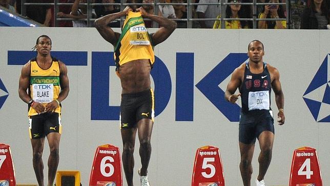 Bolt, eliminado en la final de los 100 metros