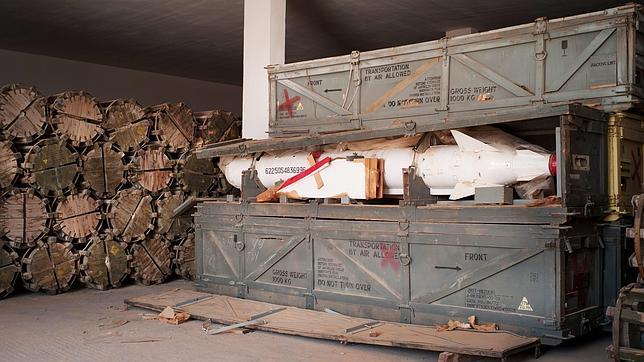 Libia, un enorme arsenal sin control