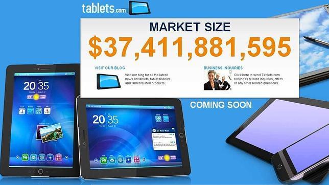 El dominio «tablets.com» sale a la venta