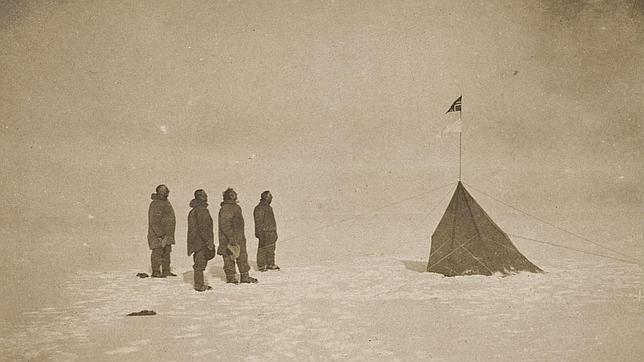La conquista del Polo Sur