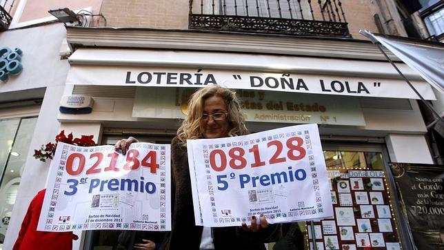 El 03643, el primer quinto premio de la Lotería de Navidad