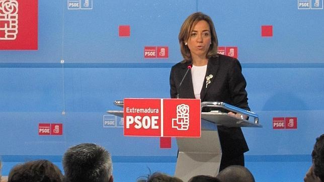 Chacón presentará mañana en Valencia el manifiesto «Mucho PSOE por hacer»