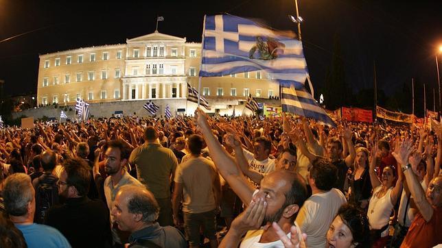 Los griegos avisan: «No sabéis lo que os espera»