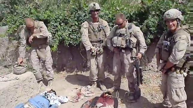 Las tropas de la vergüenza