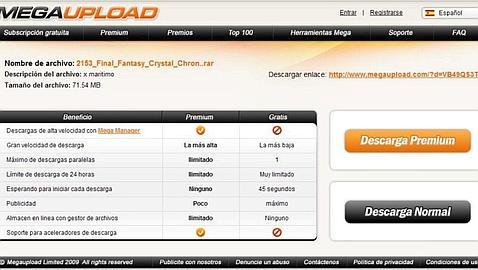 EE.UU. cierra Megaupload, una de las mayores web de intercambio de archivos