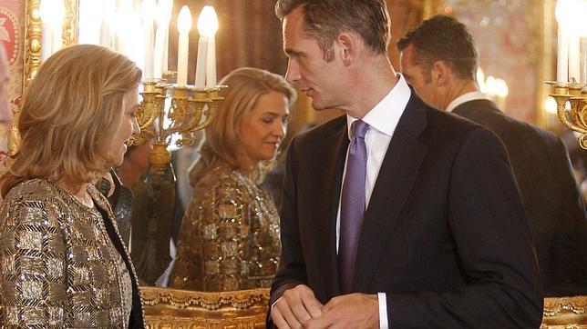 La Fiscalía General rechaza investigar a la Infanta Cristina por las actividades de Aizoon