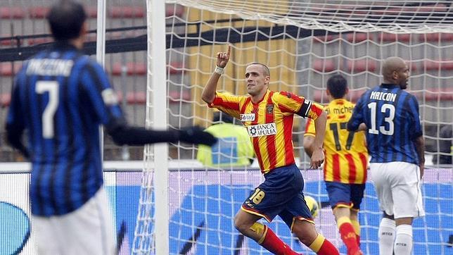 El Inter cae con el Lecce y trunca su racha de siete victorias seguidas