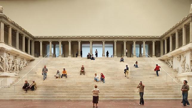 El Altar de Pérgamo no podrá verse durante tres años a partir de 2014