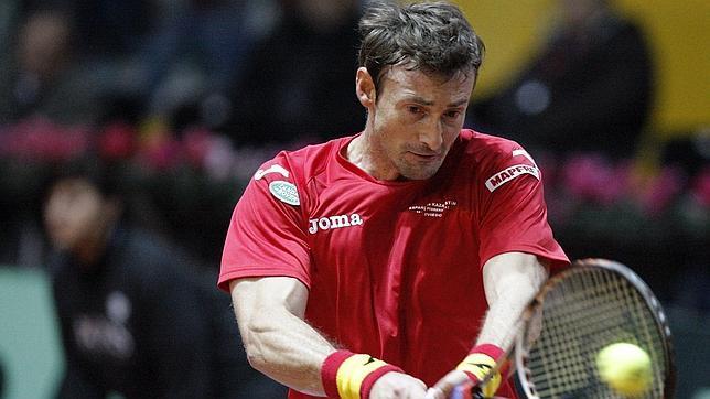 Ferrero suma el primer punto de España en la Davis ante Kazajistán