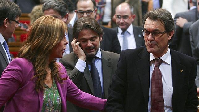 El acuerdo CiU-PP permite a Mas sacar sus segundos presupuestos