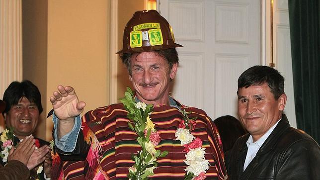 El «bolivariano» Sean Penn