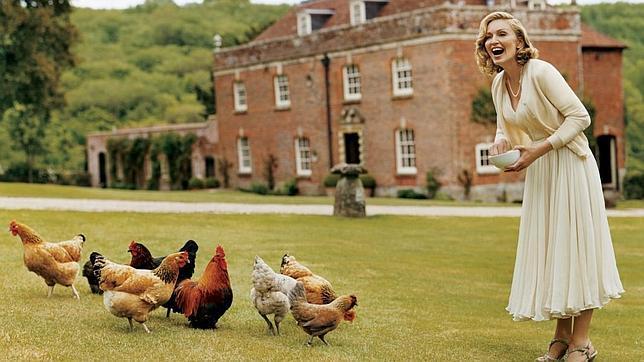 Ellas y sus gallinas