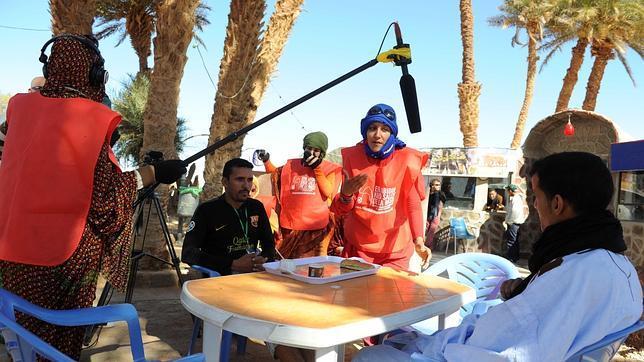 La primera generación de cineastas saharauis