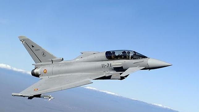 Los Eurofighter ayudan a la Guardia Civil y Marruecos en un golpe contra la droga