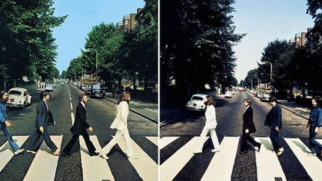 Los Beatles y Abbey Road: del derecho y del revés