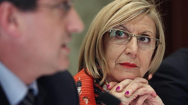 Rosa Díez, la «gobernanta» de Asturias