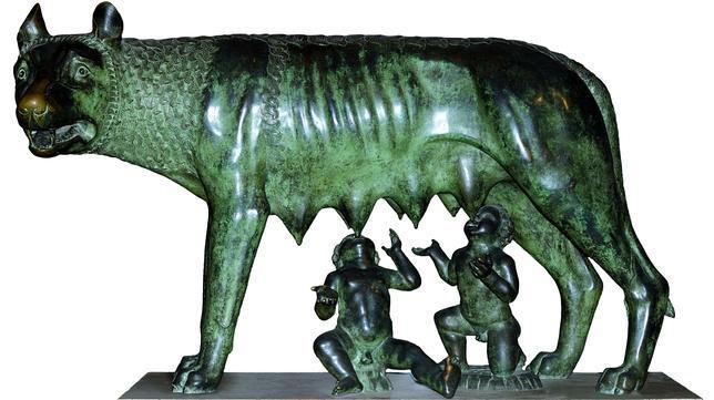 Confirman que la «loba capitolina» de Rómulo y Remo es medieval y no etrusca
