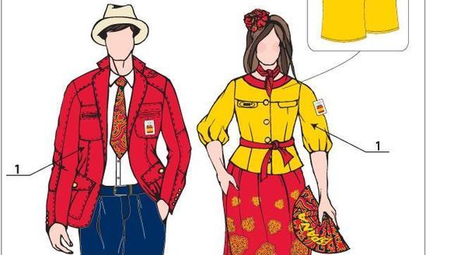 Así vestirá España en Londres 2012