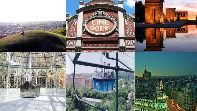 Diez lugares propicios para el amor en Madrid