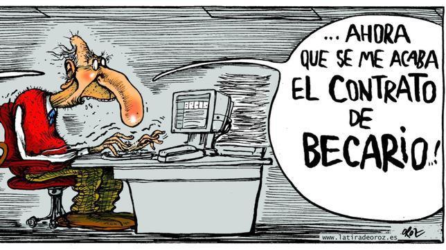 ¿Cuánto cobra un becario en España?