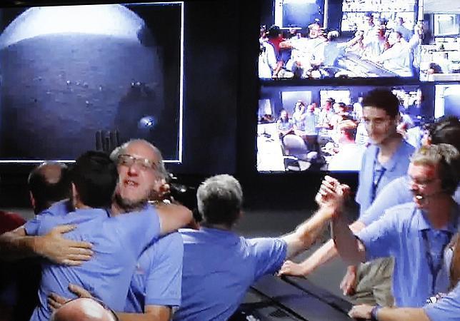 En directo: El Curiosity logra aterrizar en Marte