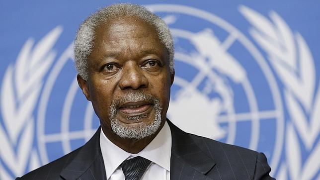 Se pospone «sine die» la reunión para elegir al sucesor de Annan al frente de la mediación
