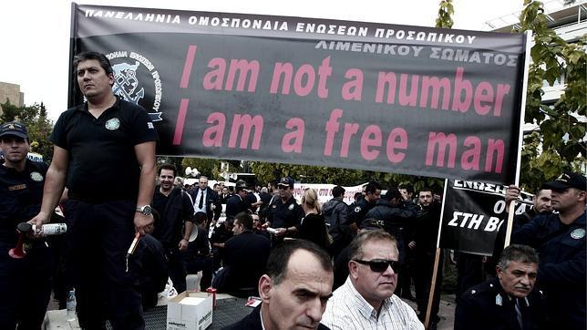 Grecia ya suma 25 huelgas generales en los últimos tres años