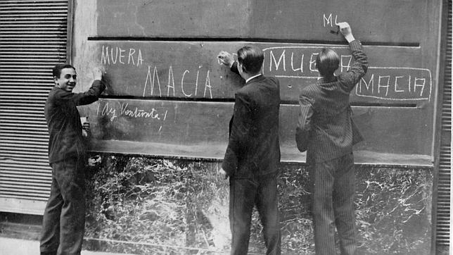 Los intentos fallidos de proclamar el Estado catalán