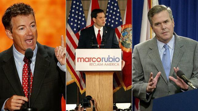 Un hispano, un libertario y un Bush: tres «príncipes» para sustituir a Romney