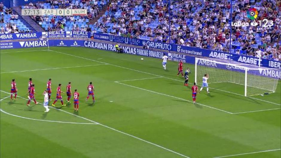 LaLiga 123 (J41): Resumen del Zaragoza 0-0 Numancia