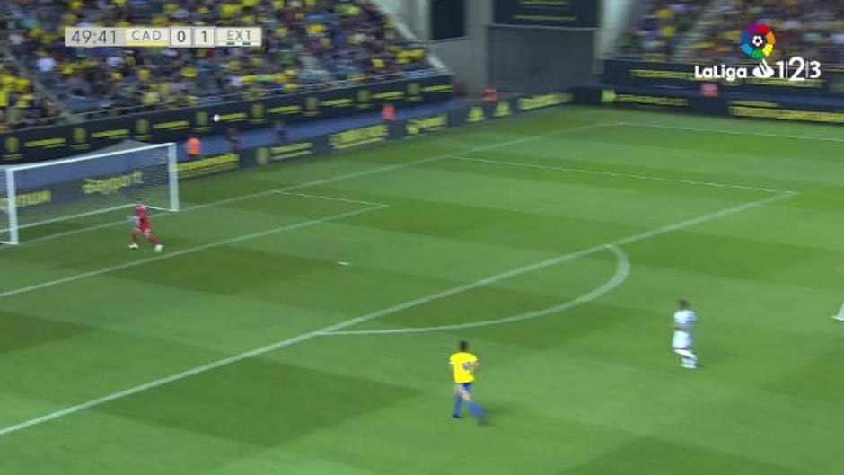 LaLiga123 (J41): Resumen y gol del Cádiz 0 - 1 Extremadura